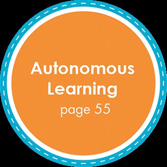 Autonomous Learning page 55